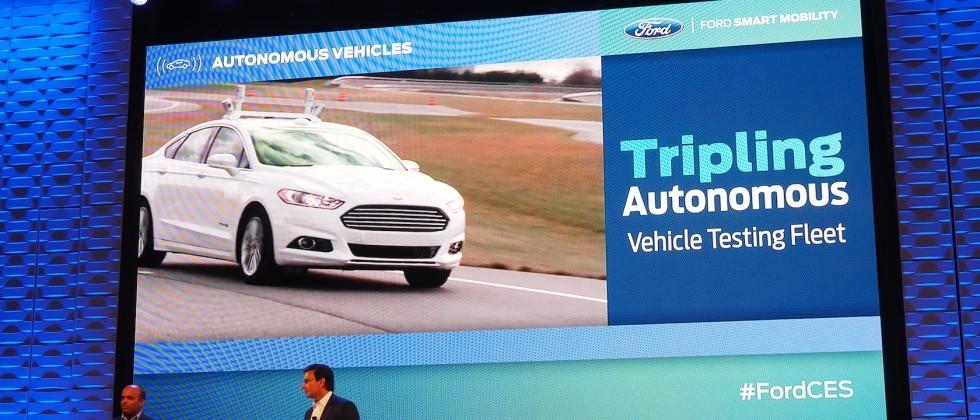 Ford triples autonomous car fleet but no Google deal