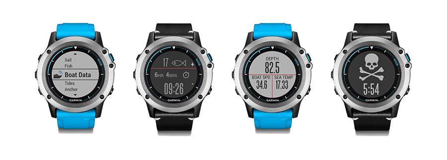 Garmin quatix 3 Marine GPS smartwatches are perfect for pirates