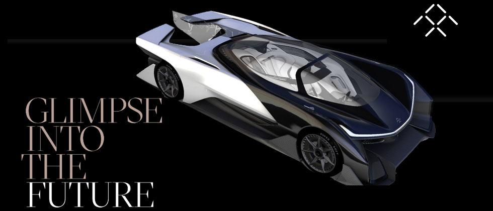Faraday Future electric autonomous concept car leaks before event