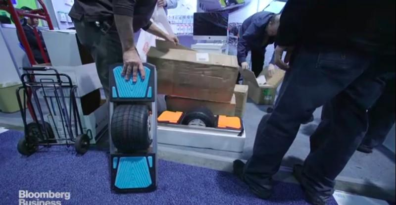 Chinese hoverboard maker raided by U.S. Marshals at CES