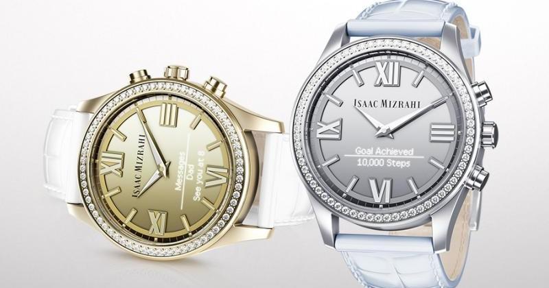 "HP's Isaac Mizrahi ""smartwatch"" woos ladies with crystals"