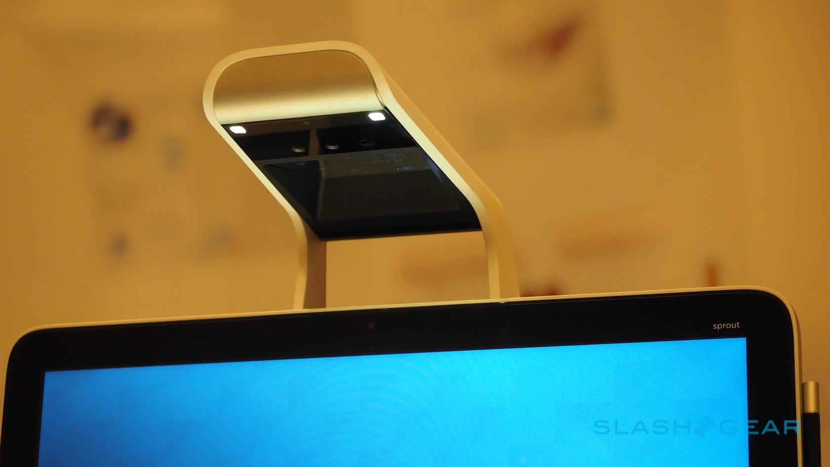 HP Sprout Pro hands-on: 3D-scanning PC action on another level