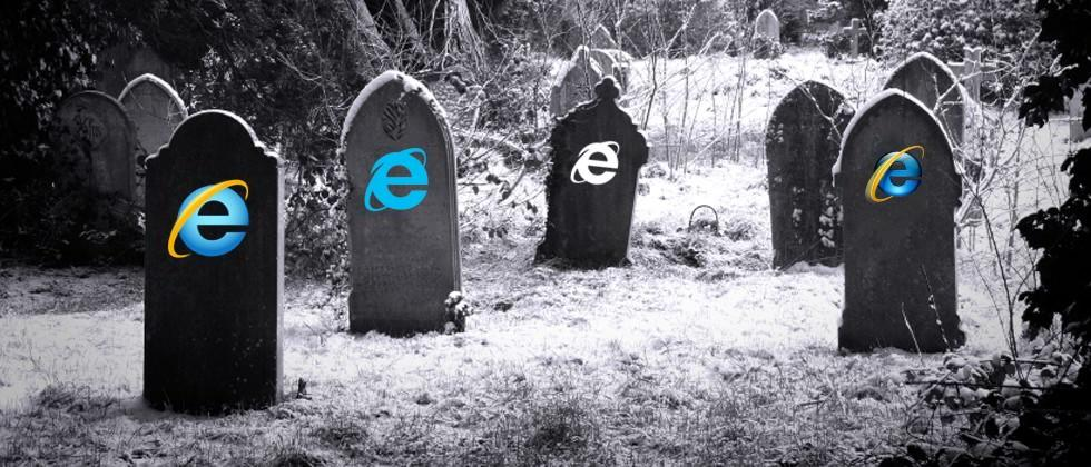 The time has come: Internet Explorer 8, 9, 10 put to pasture