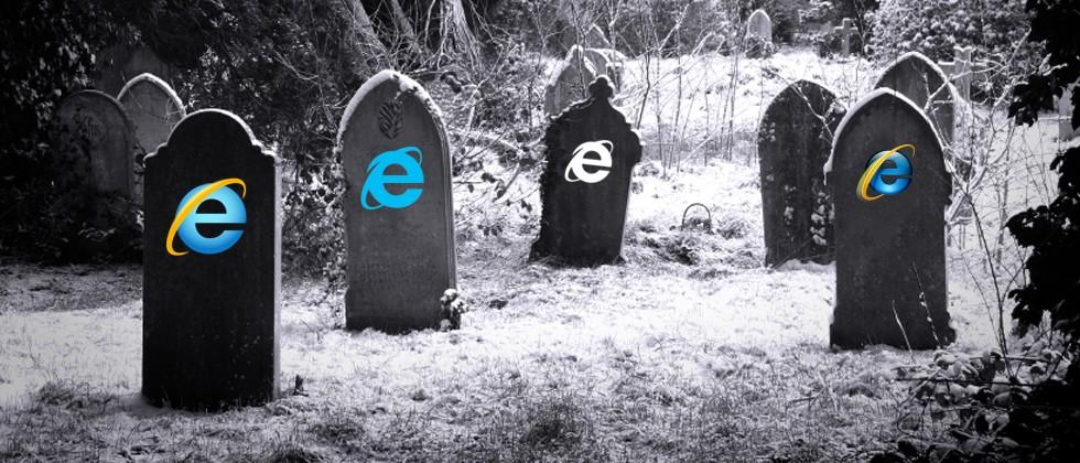 RIP: Microsoft is killing Internet Explorer 8, 9, 10 next week