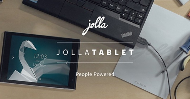 It's official: Jolla Tablet is dead, 540 units to be shipped