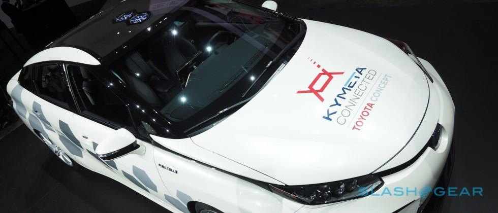 Toyota shows satellite Mirai with game-changer antenna tech
