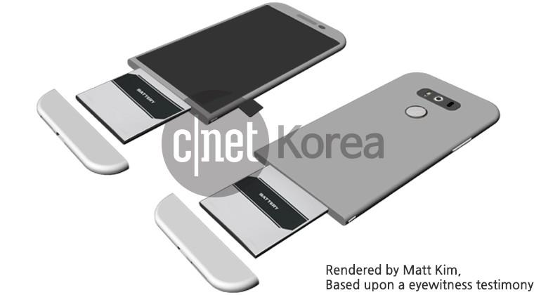 LG G5 may go modular to keep removable battery