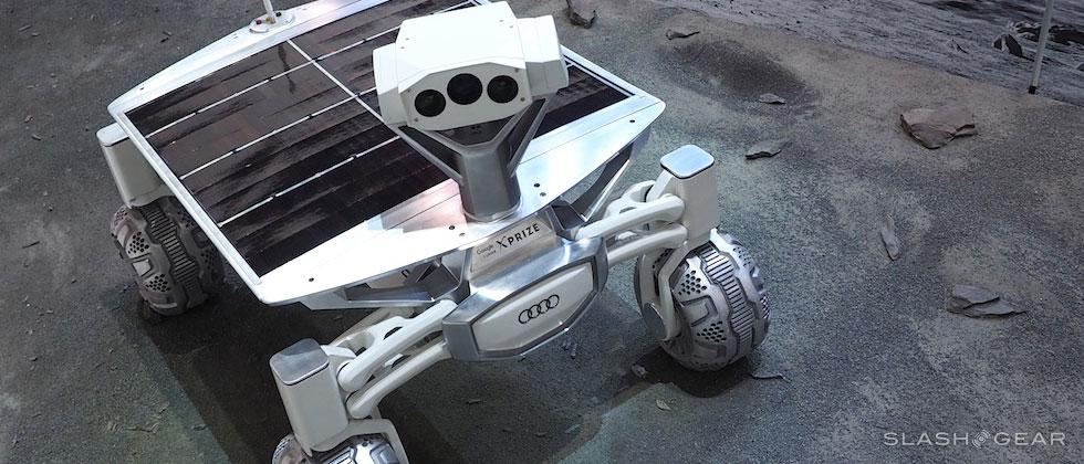Audi Lunar Quattro moon rover first look: XPRIZE-bound