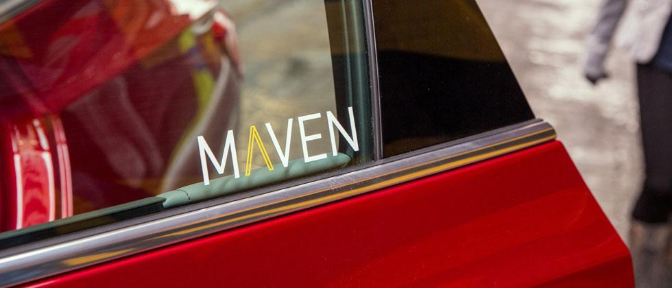 Maven is GM's new on-demand car-sharing service
