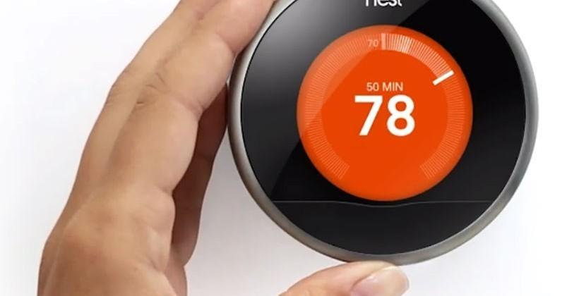 Nest thermostat leaked unencrypted zip codes, now fixed