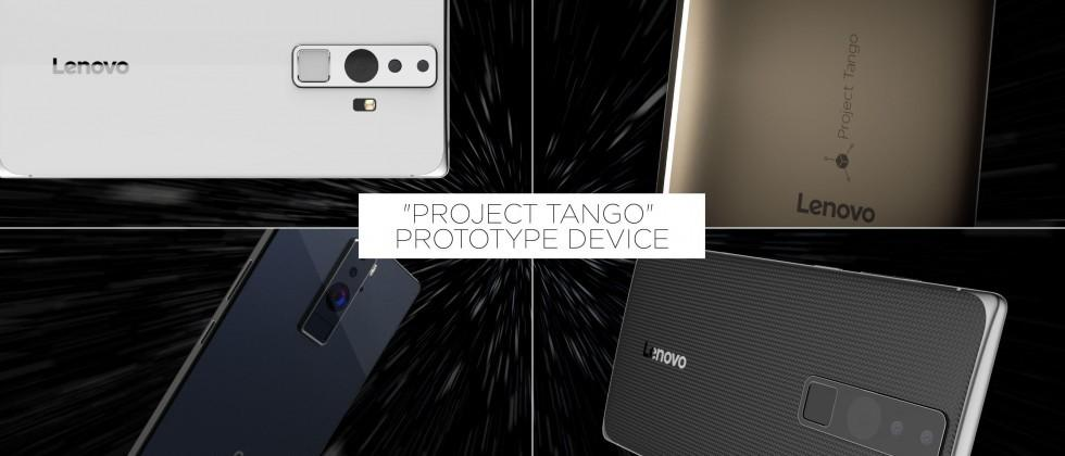 Lenovo reveals its Google Project Tango phone