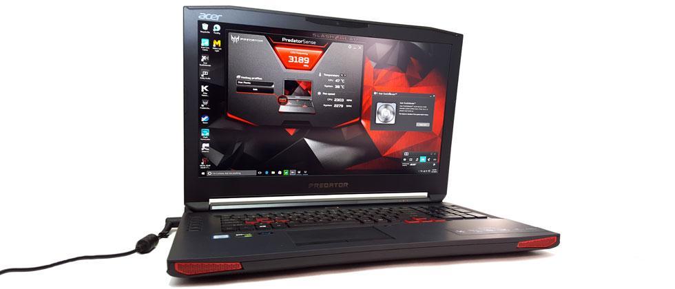 Acer Predator 17 gaming laptop Review: Big Red