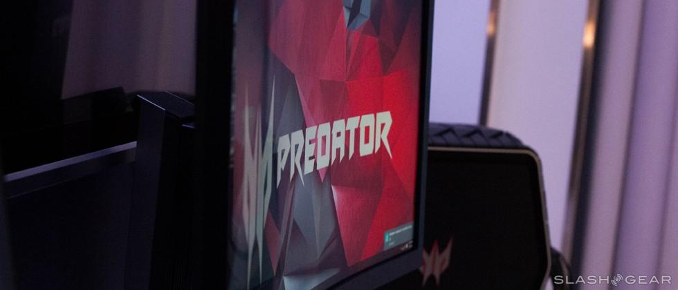 Acer Predator Z35 Ultra-curved gaming monitor hands-on