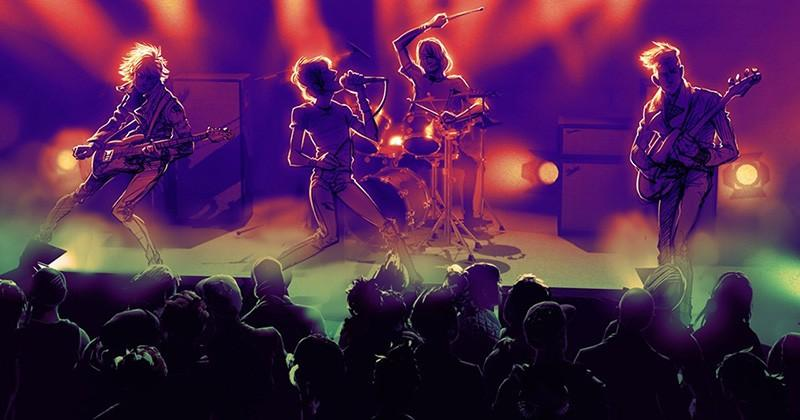 Rock Band 1 tracks are now available on PS4