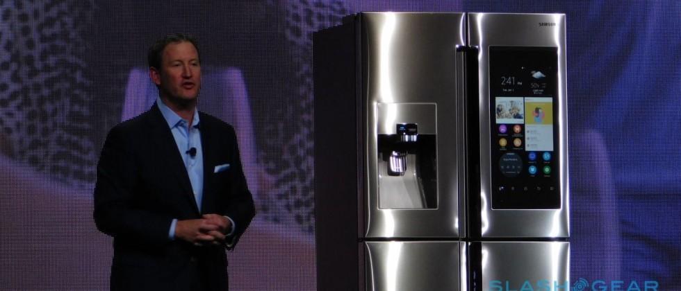 Samsung Family Hub fridge packs 21.5″ touchscreen for IoT and grocery shopping