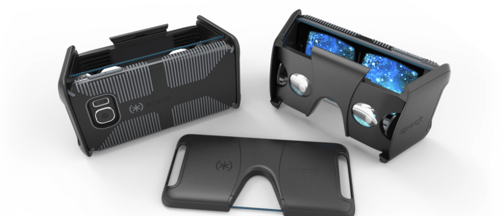 Speck Pocket VR viewer case is a durable, foldable Google Cardboard replacement