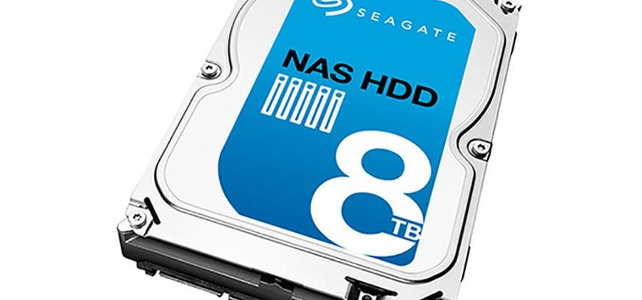 Seagate 8TB HDD is aimed at NAS solutions