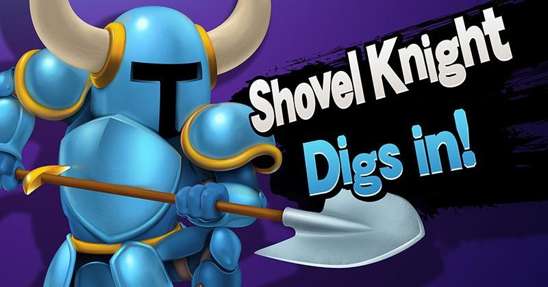 Shovel Knight's amiibo can be read while still in the package