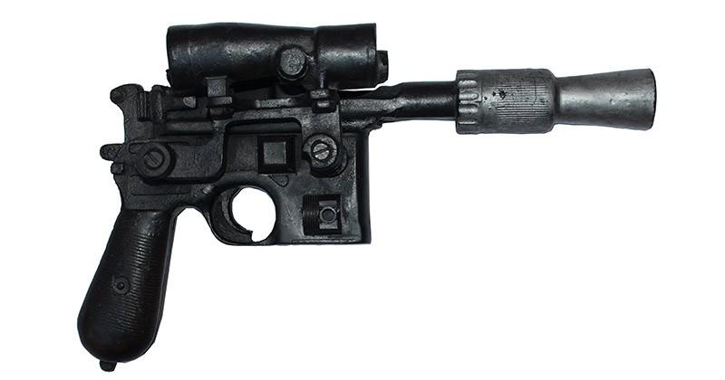 Luke Skywalker's blaster goes on the auction block