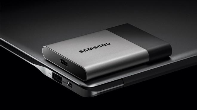 Samsung's new SSD T3 employs USB-C