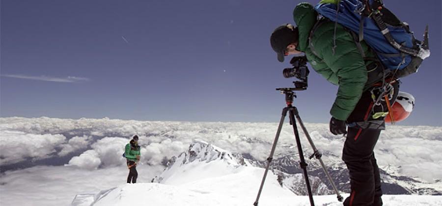 Climb Mont Blanc with Google Street View