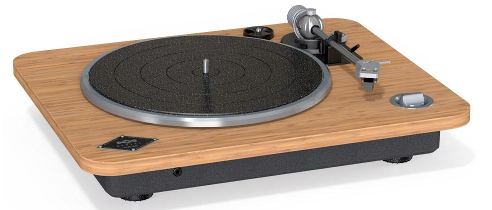 House of Marley unveils a simple, elegant turntable