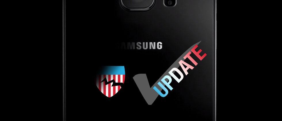 Samsung Galaxy smartphones receive security update