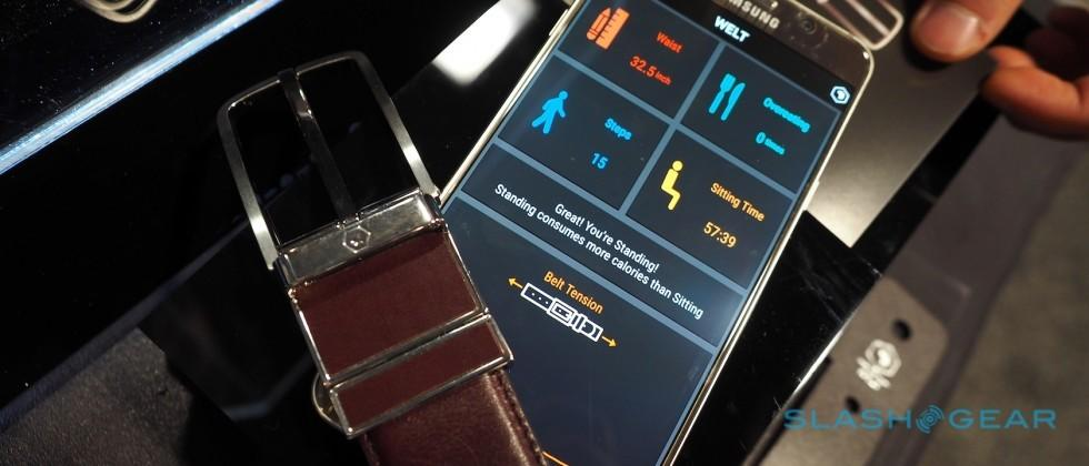 Welt hands-on: The smart belt that watches your waistband