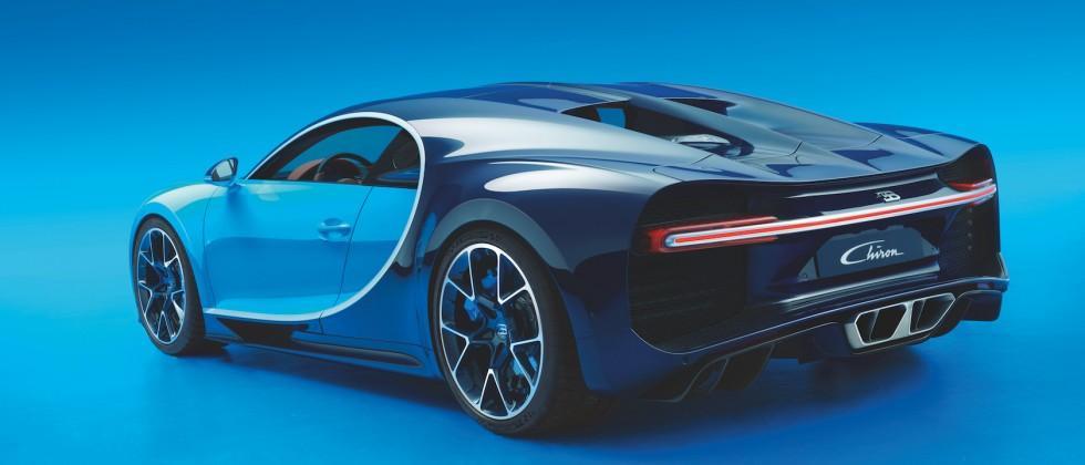 Bugatti Chiron Gallery