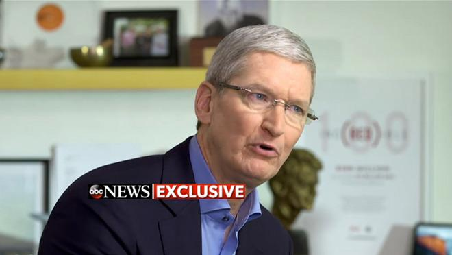 Apple's Tim Cook explains that FBI request is like 'software cancer' in interview