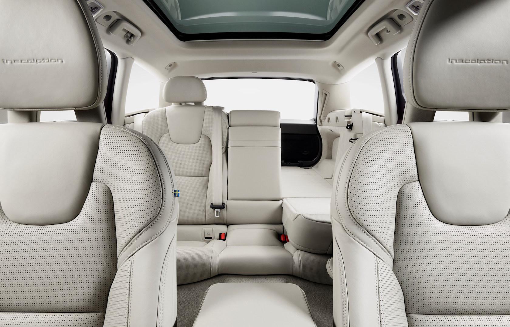 Volvo V90 Studio Folding Rear seats
