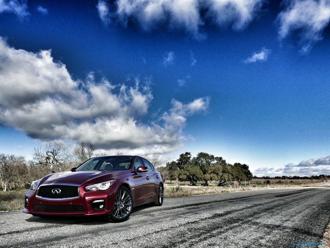 2016 Infiniti Q50 Red Sport 400 - 05