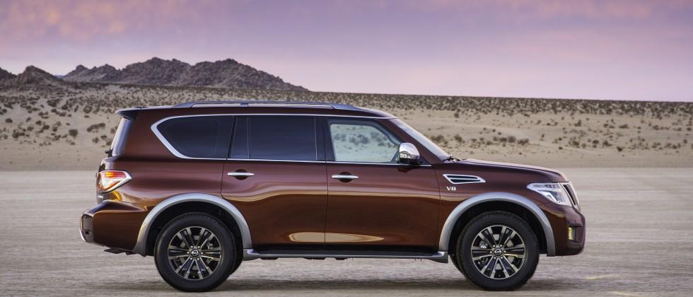 2017 Nissan Armada At The Chicago Auto Show: New Platform, Engine, and Styling