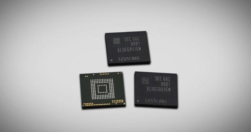 Samsung's 256GB memory chips ready to roll into smartphones