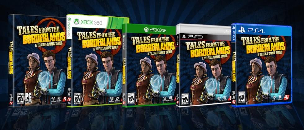 Tales from the Borderlands eps 1-5 get physical release in April