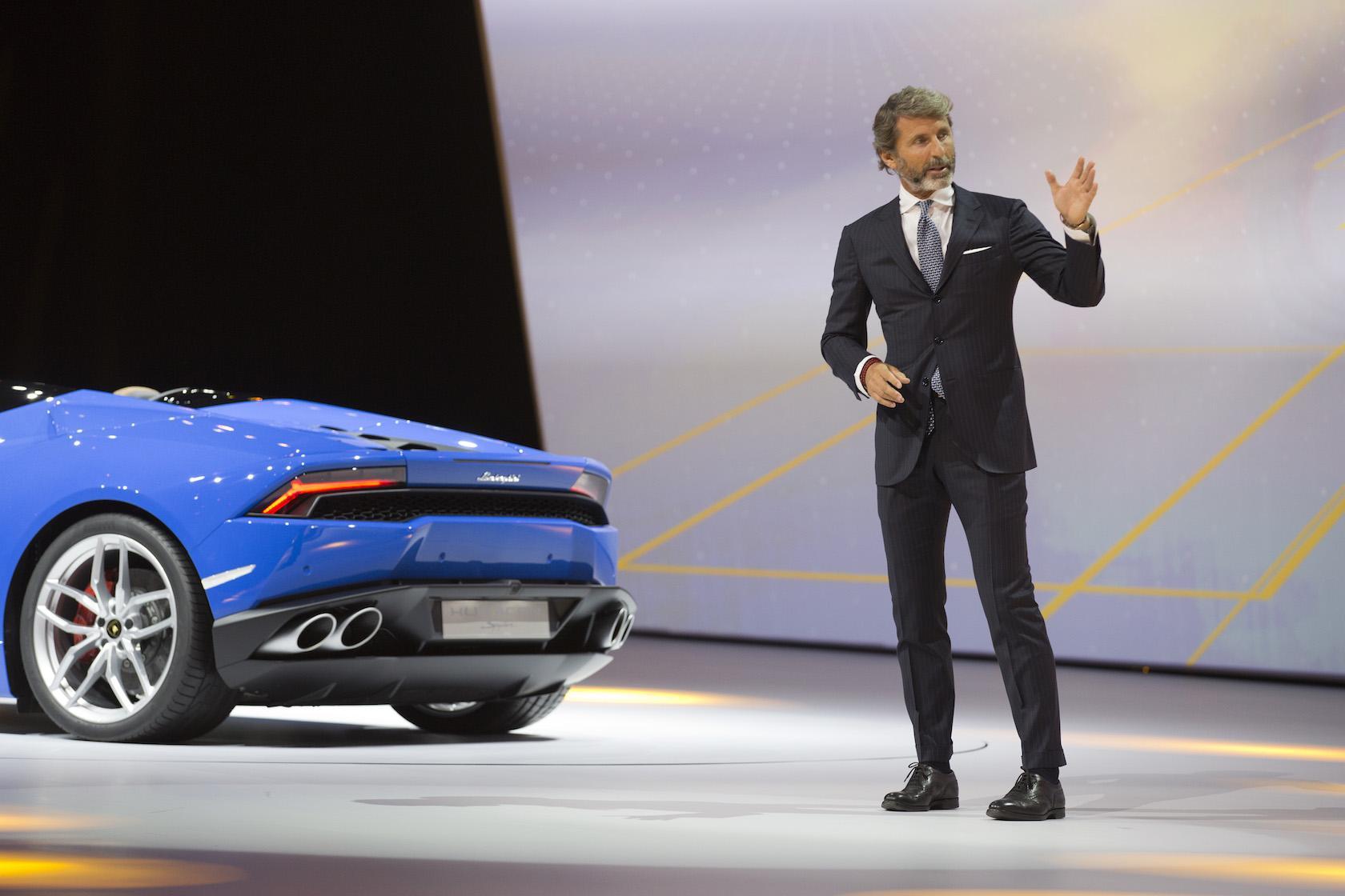 Stephan Winkelmann (Image: Lamborghini)