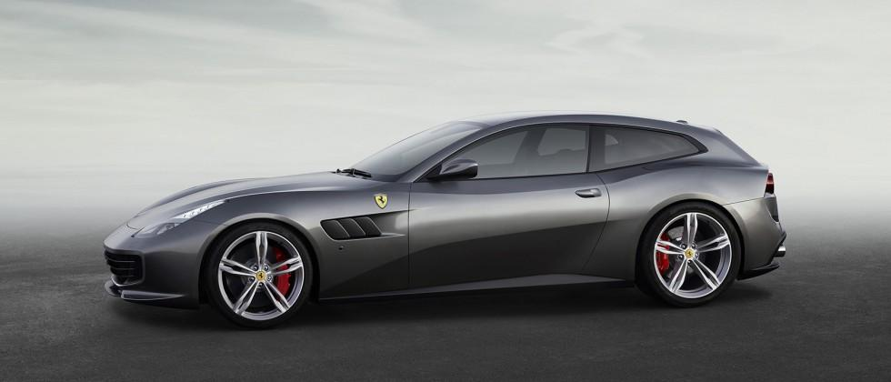 This GTC4Lusso is Ferrari's idea of a practical family car