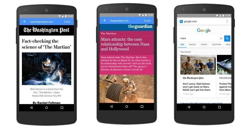 Google's quick-loading AMP pages arrive in mobile search