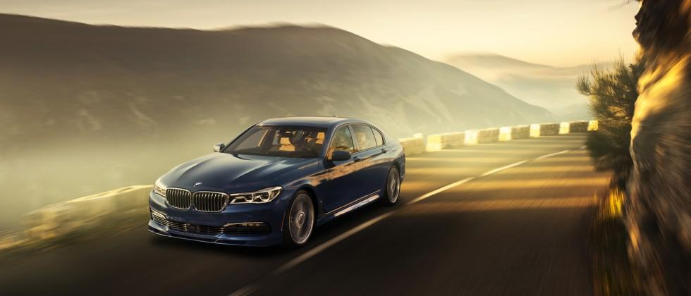 The 2017 BMW Alpina B7 turns luxe limo into a 600HP rocket