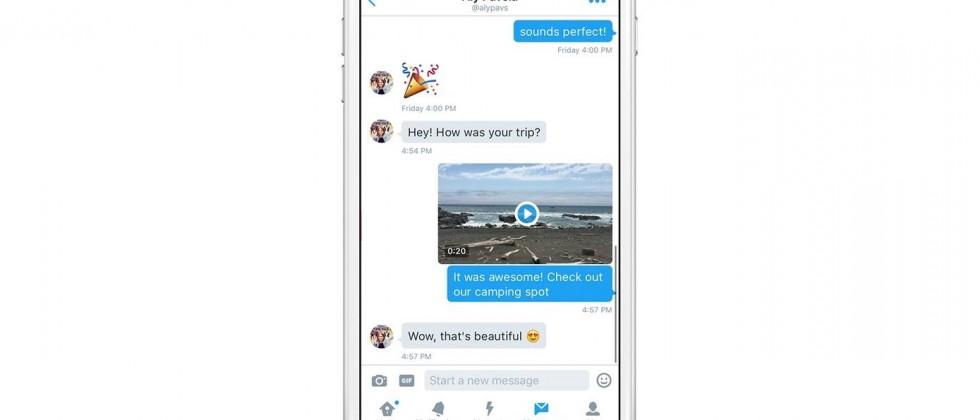 Twitter brings video sharing to Direct Messages