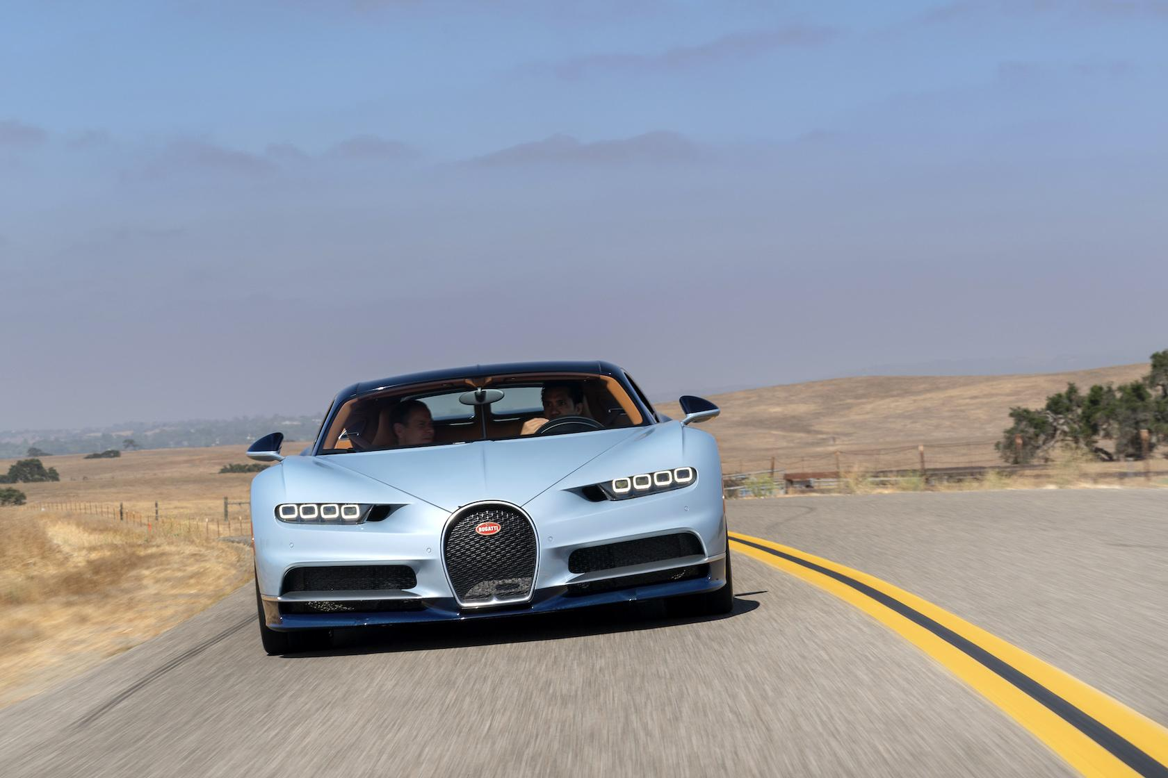 Driving the $3m Bugatti Chiron was nothing like I expected