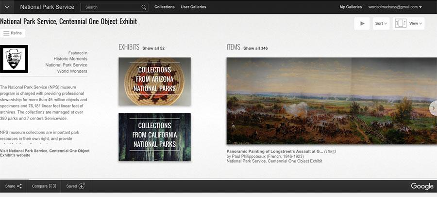 Google, National Park Service team to digitize 3800+ artifacts