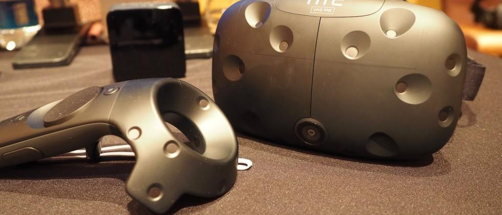 HTC Vive Pre user manual details first steps with VR headset