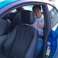 2016 BMW M2 rear seat