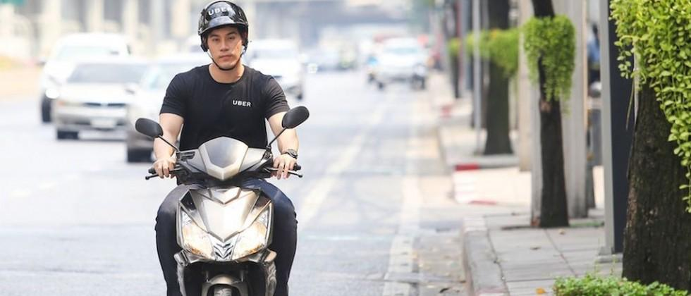 Uber is launching a motorcycle-hailing service