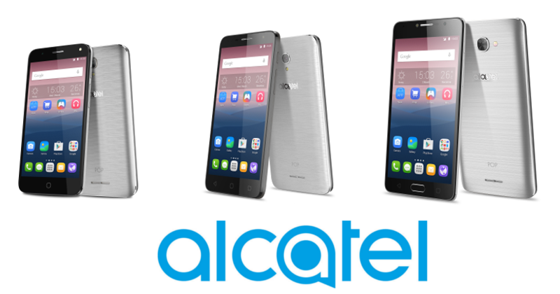 Alcatel mid-range POP 4 series joins the MWC 2016 party