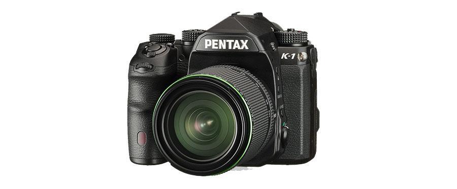 Pentax K-1 DSLR brings full-frame sensor, a dozen lenses