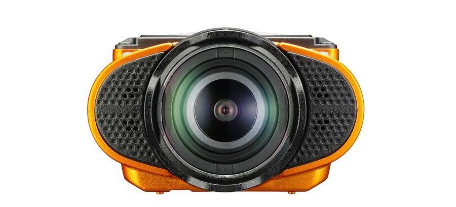 Ricoh WG-M2 rugged action camera temps the elements