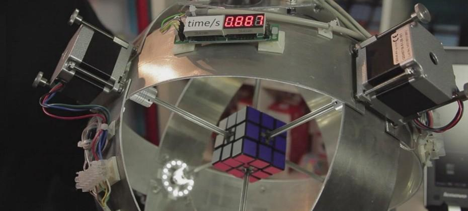 Sub1 robot solves Rubik's Cube in 0.887 seconds