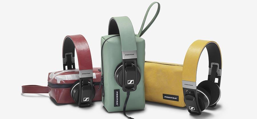 Sennheiser and Freitag team for one-of-a-kind Urbanite headphones